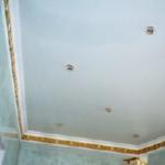 Натяжные потолки: модно, красиво и практично