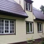 Материалы для облицовки фасада загородного дома