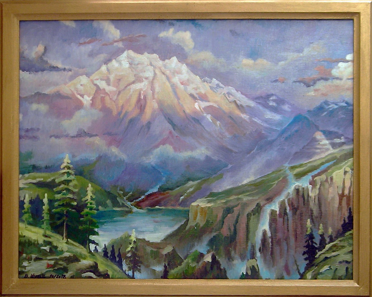 Горный пейзаж. Вид 2