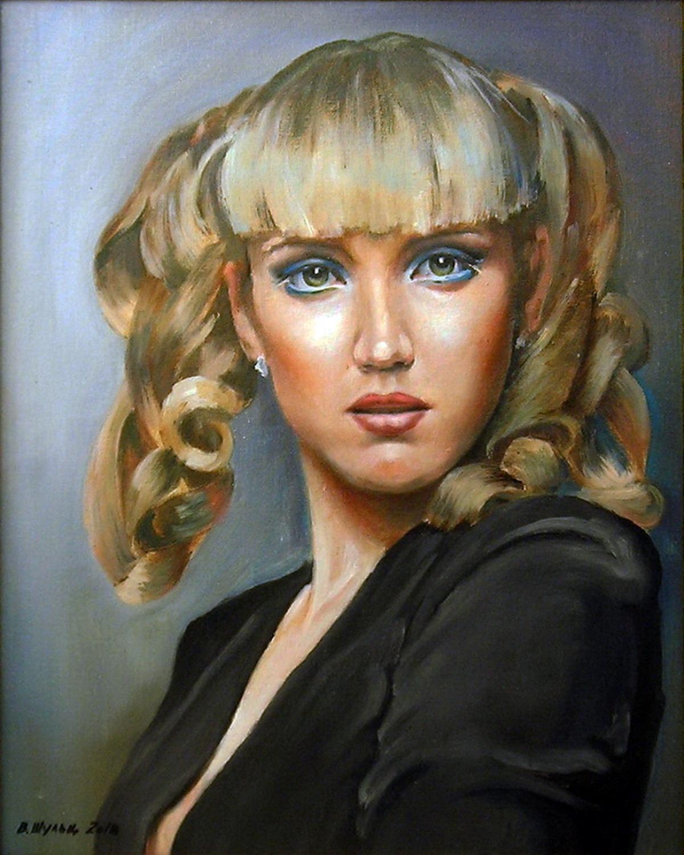 Портрет девушки. Вид 1
