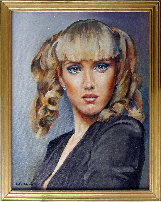 Портрет девушки. Вид 3
