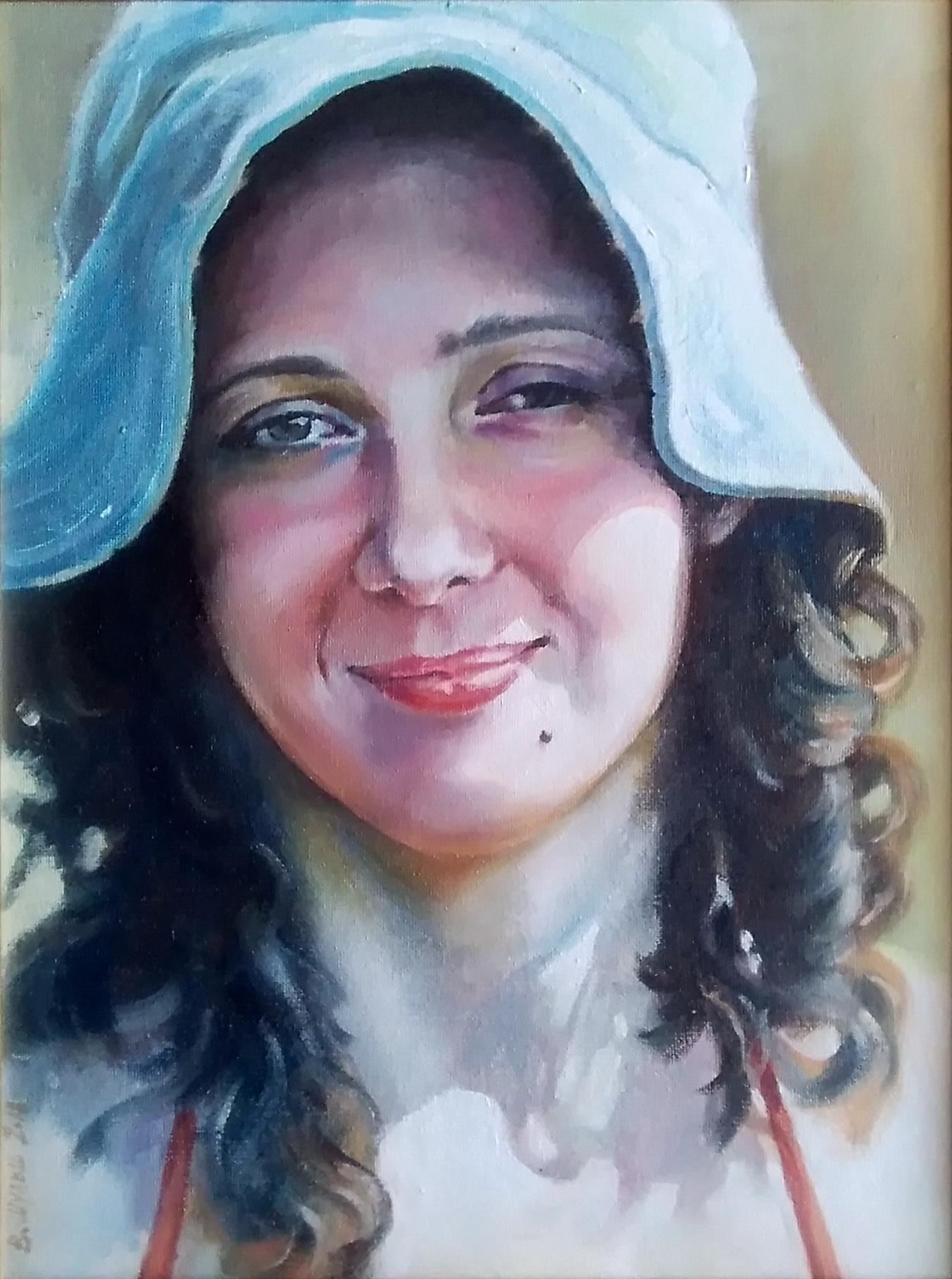 Портрет племянницы. Вид 1