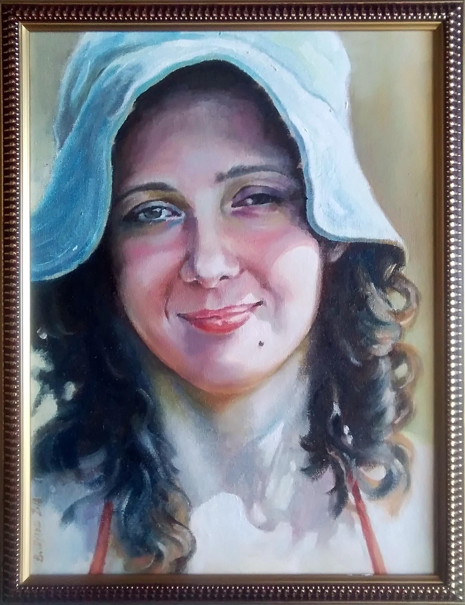 Портрет племянницы. Вид 2