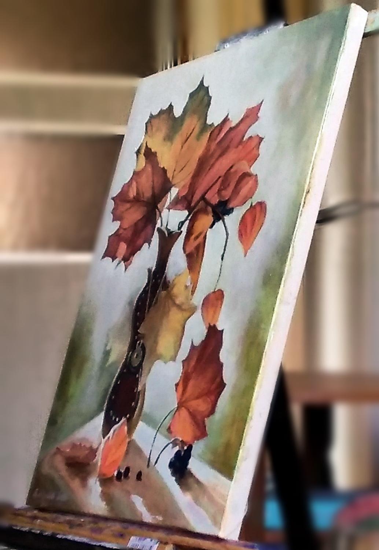 Букет листьев. Вид 5