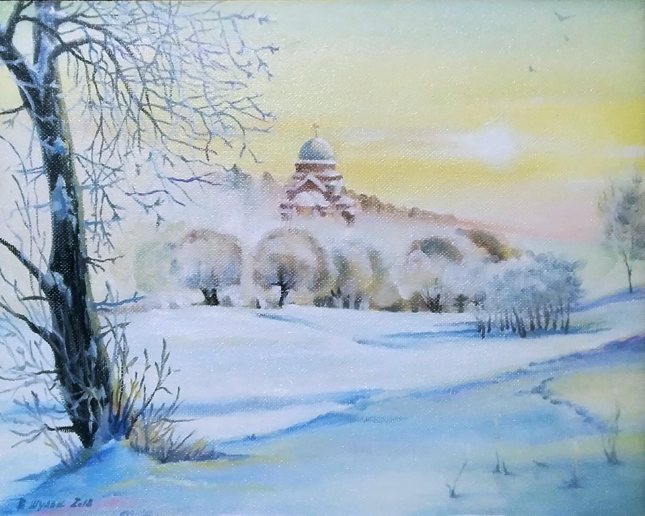 Зима. Вид 1