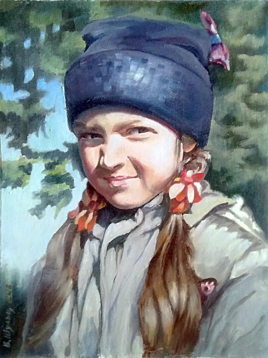 Портрет внучки. Вид 1