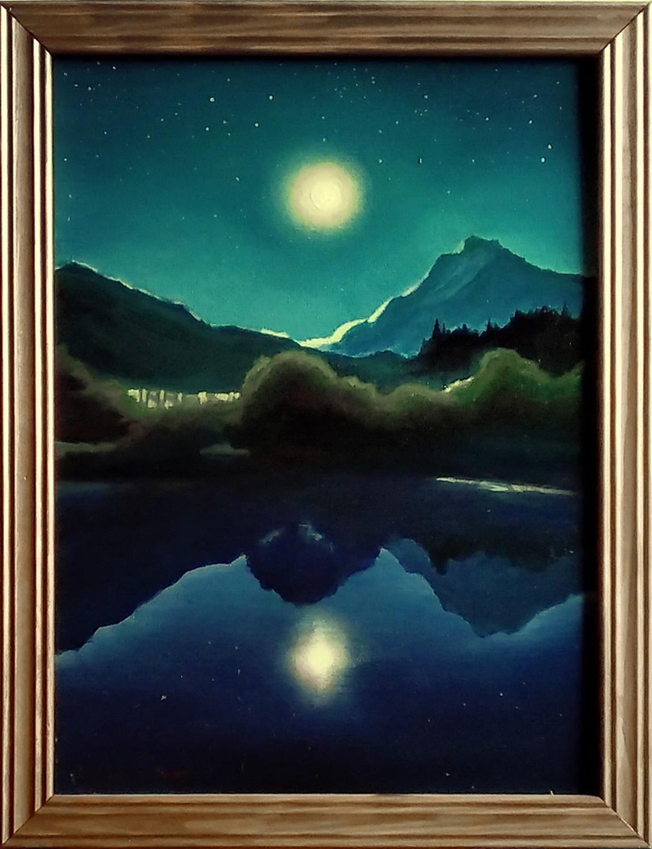 Лунная ночь. Вид 3
