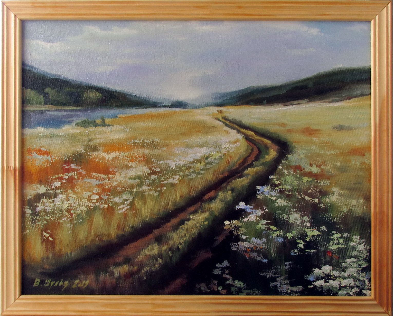 Дорога в поле. Вид 3