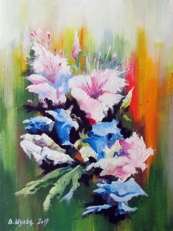 Цветы. Композиция. Вид 1