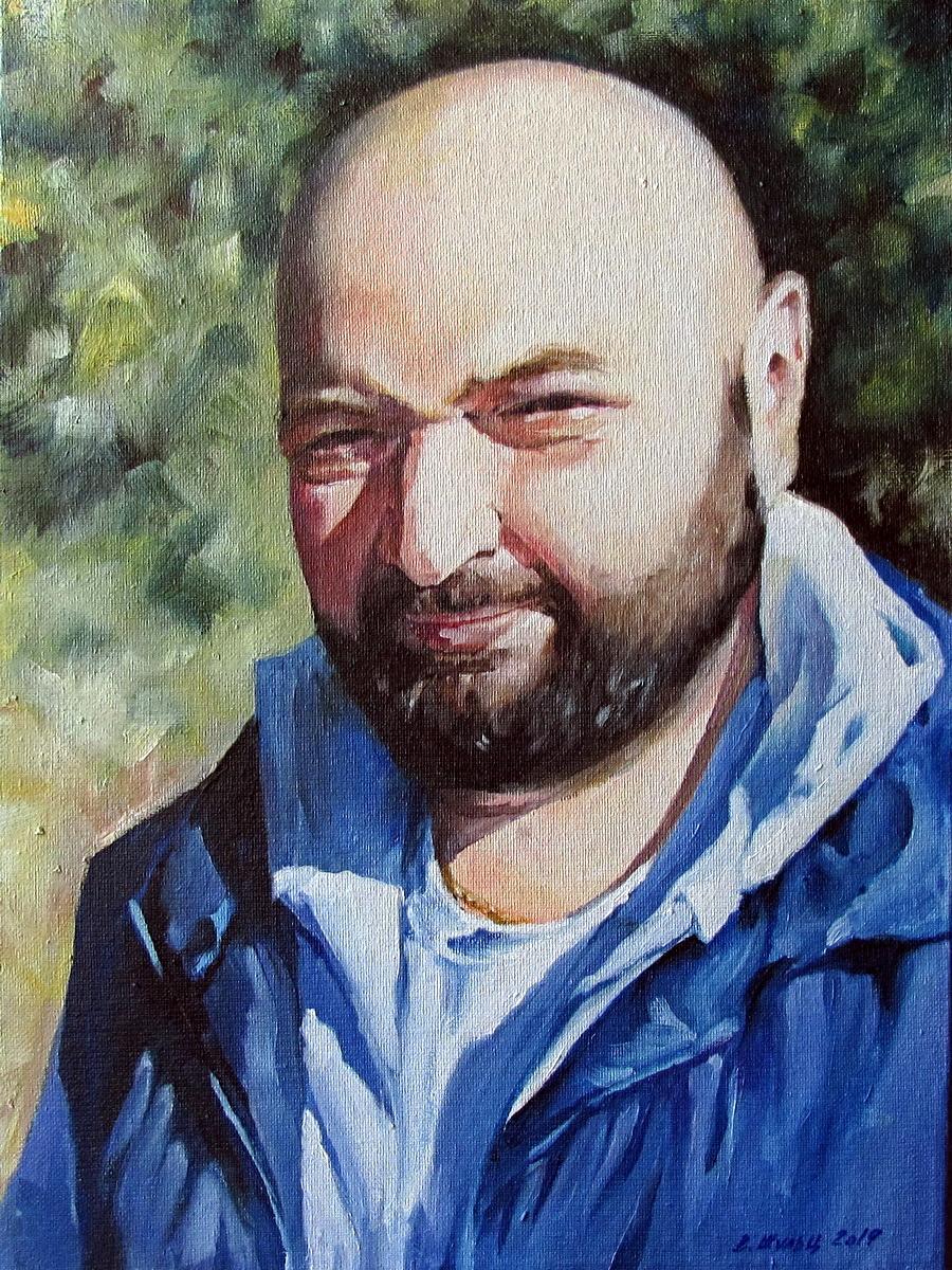Портрет зятя. Вид 1