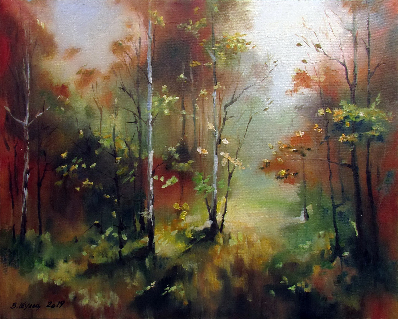 Осенний лес. Вид 1