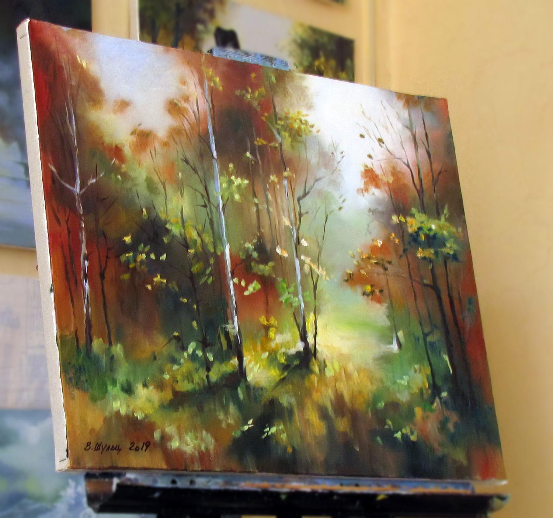 Осенний лес. Вид 3