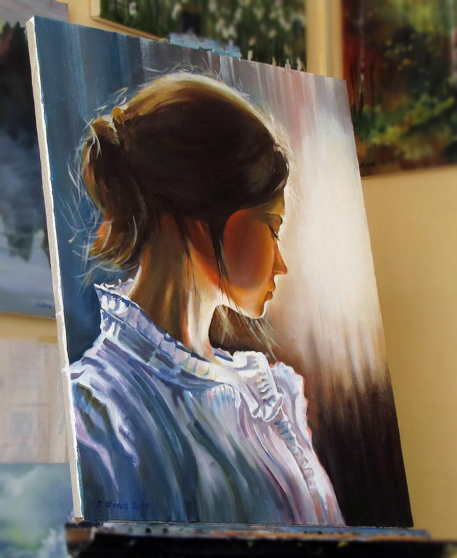 Портрет девочки. Вид 3