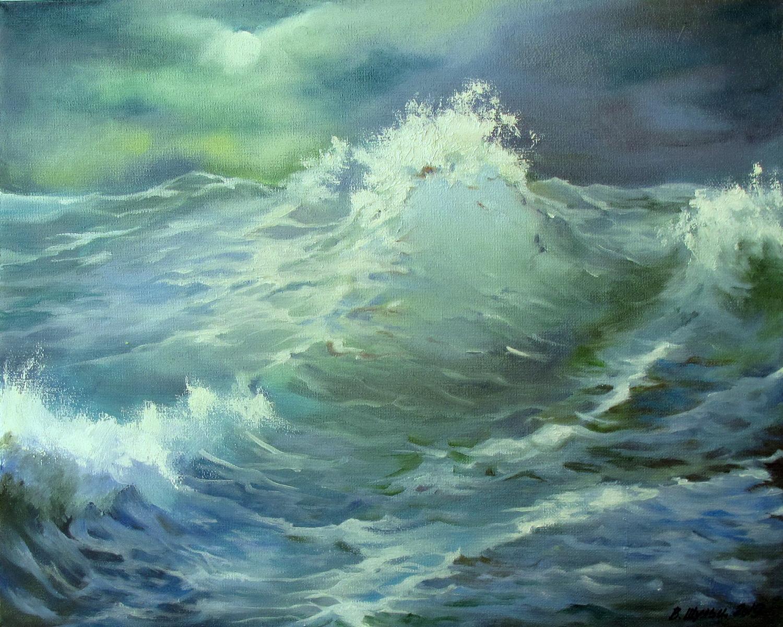 Морская волна. Вид 1