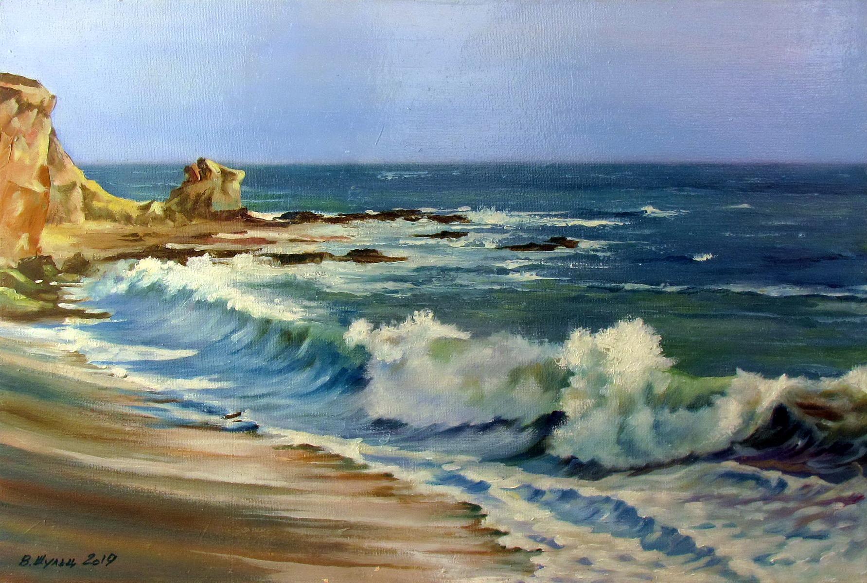 Морской берег. Вид 1