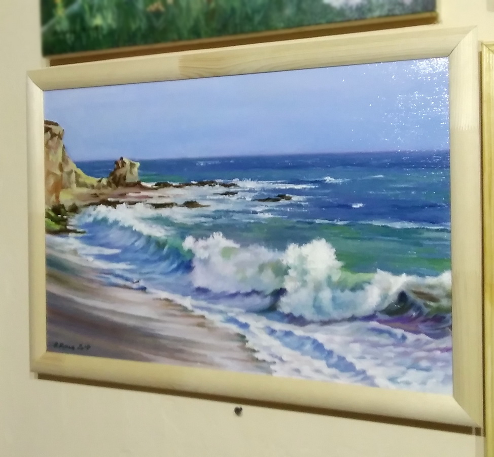Морской берег. Вид 2