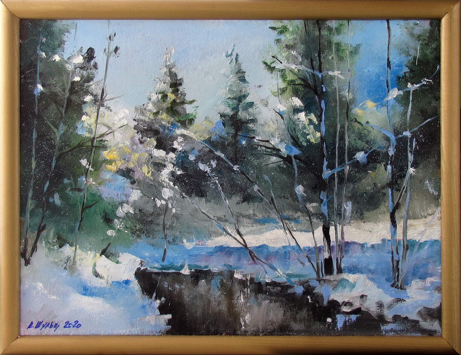 Зимний лес. Вид 2