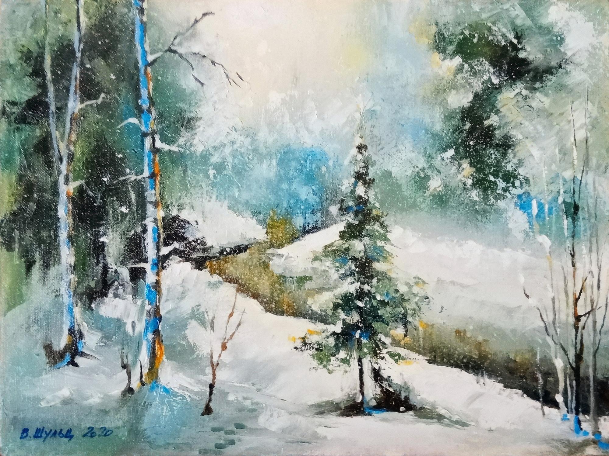 Опять зима. Вид 1