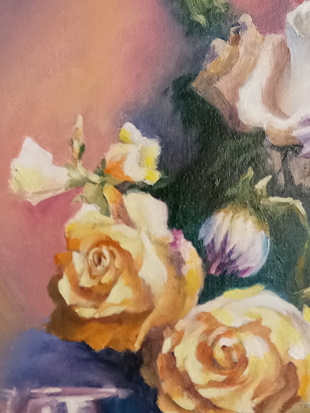 Букет с розами. Вид 4