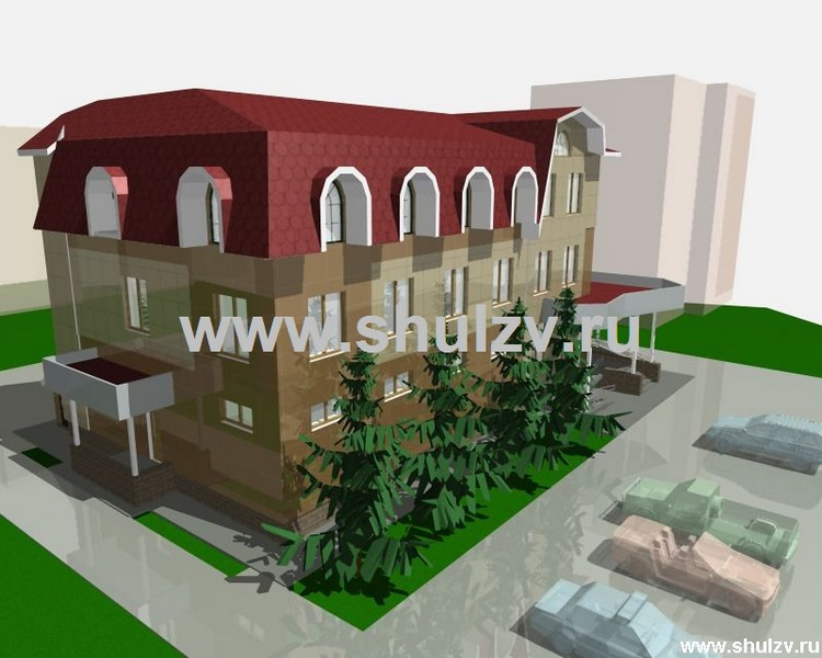 Административно - торговое здание.